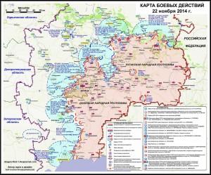 Novorussia: Situazione al 22 novembre;