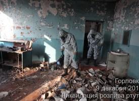 Cartoline dal Donbass: la bonifica della fabbrica tessile di Gorlovka