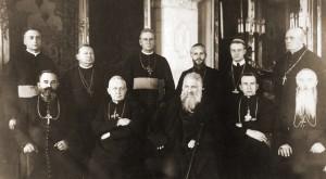 Leopoli, 1927: vescovi della chiesa uniate.