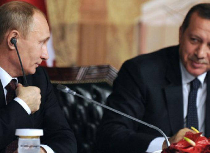 """""""Turk Stream"""": Enorme vittoria per la Turchia – Grande vittoria per la Russia – Storica perdita per l' EU"""