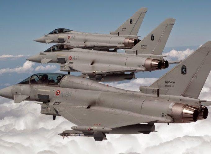 Caccia italiani nel Baltico per operazioni Nato anti-Russia