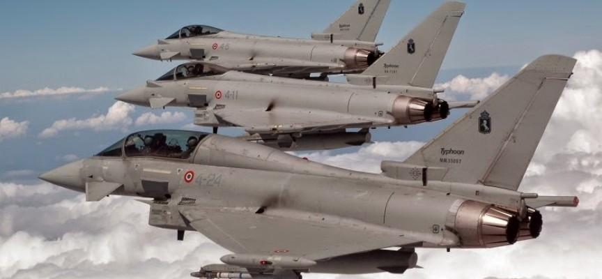Aerei Da Caccia Turboelica : Caccia italiani nel baltico per operazioni nato anti