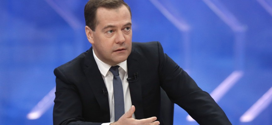 Medvedev dichiara: stessa ricetta