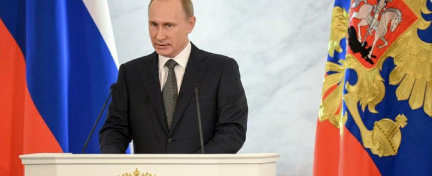 Il mondo secondo il Presidente russo