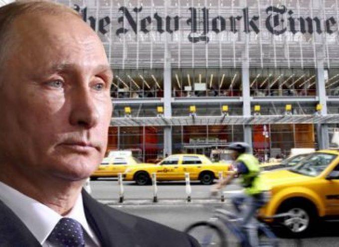Il New York Times allo scoperto: finalmente la verità sull'Ucraina e Putin