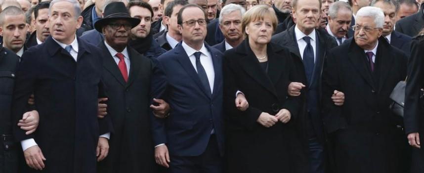 Ipocriti che brillano alla sfilata di Parigi