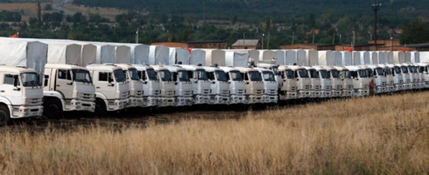 Il significato della decisione russa di spostare il convoglio umanitario in Novorossija