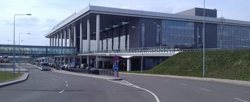 Ciò che resta dell'aeroporto di Donetsk.