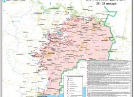 Situazione militare al 27 gennaio 2015