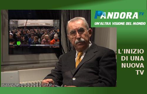 Il Progetto di Pandora TV: una realtà che fornisce una informazione alternativa a centinaia di migliaia di italiani