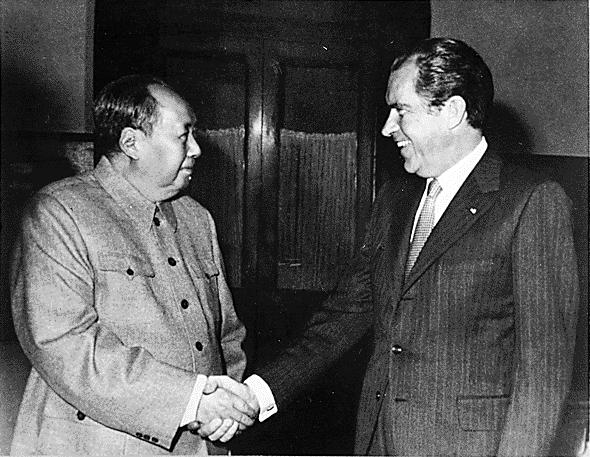 1972: Nixon incontra Mao.
