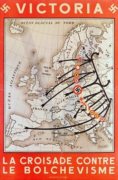 1941: la crociata europea contro il bolscevismo.