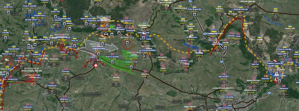 Settore Nord di Lugansk