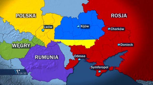"""Spartizione dell'Ucraina. Secondo Chiesa una proposta irrealizzabile, in quanto la Russia """"non è interessata"""""""