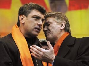 Nemtsov e Yushchenko