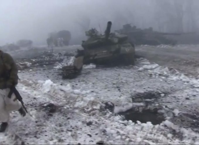 """Villaggio di Sanzharovka, """"calderone"""" Debaltsevo – la battaglia continua"""