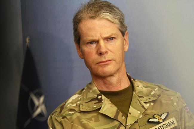 General Brandshaw visits Latvia