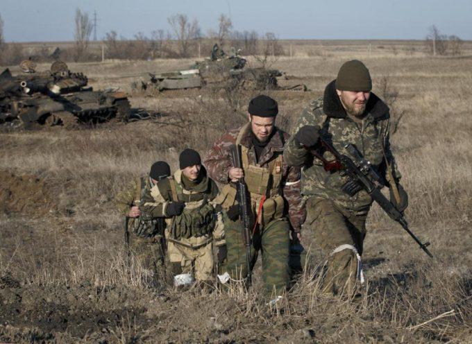 Le truppe NAF entrano a Debaltsevo