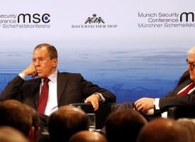 Ascoltando Lavrov a Monaco di Baviera
