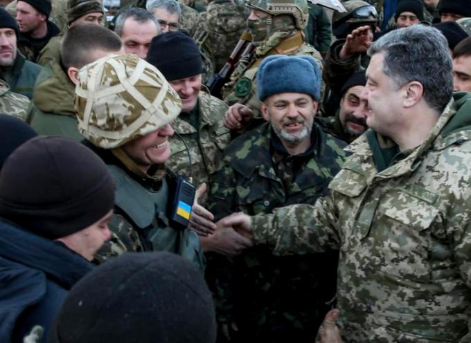 Il Presidente Poroshenko ha tradito le forze armate ucraine a Debaltsevo