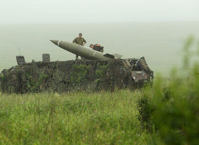 Parti di missile Tochka-U cadute vicino Alchevsk