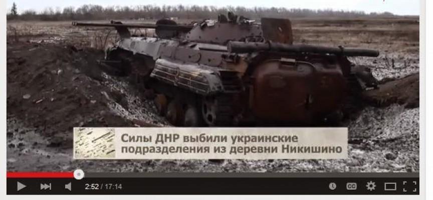 """Nikishino: sono in  azione le """"truppe speciali"""" della Novorussia?"""