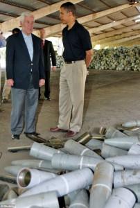 Barack Obama visita la Fabbrica Nazionale di Prodotti Chimici