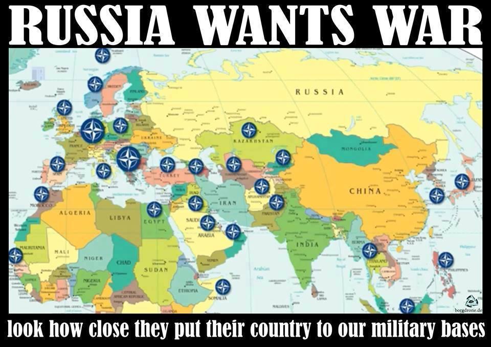 La Russia vuole la guerra.