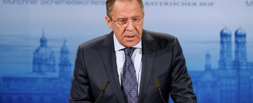 Sergei Lavrov, alla conferenza sulla sicurezza di Monaco 2015