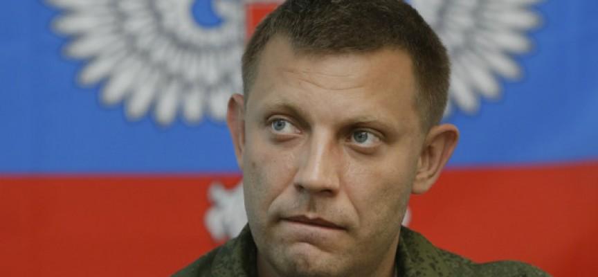 """Zakharchenko: """"L'Ucraina lancerà un'offensiva a fine marzo"""""""