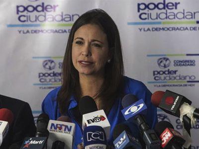 Il colpo di Stato doveva mettere al potere María Corina Machado. Il 26 gennaio, ha ricevuto a Caracas i suoi principali complici stranieri.