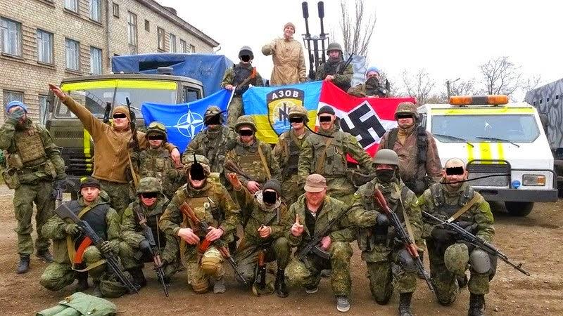 Il battaglione ucraino Azov