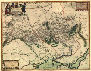 Beauplan_Map_of_Podilia 1647