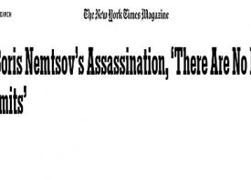 Caso Nemtsov: i signori della guerra al lavoro in Russia ed in Occidente