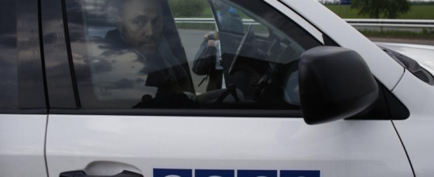 Funzionari OSCE attaccati all'aereoporto di Donetsk