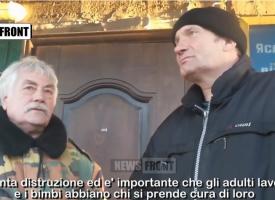 Aiuti umanitari a Debaltsevo