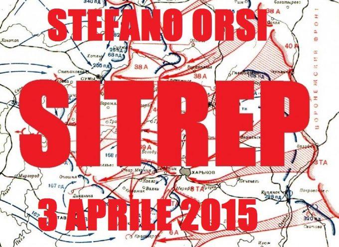 Situazione Militare – 3 aprile 2015