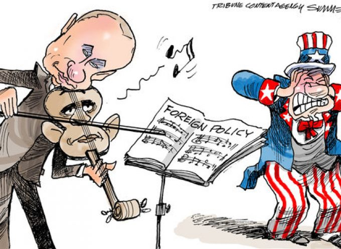 L'America contro la Russia. Da Teheran a Kiev.