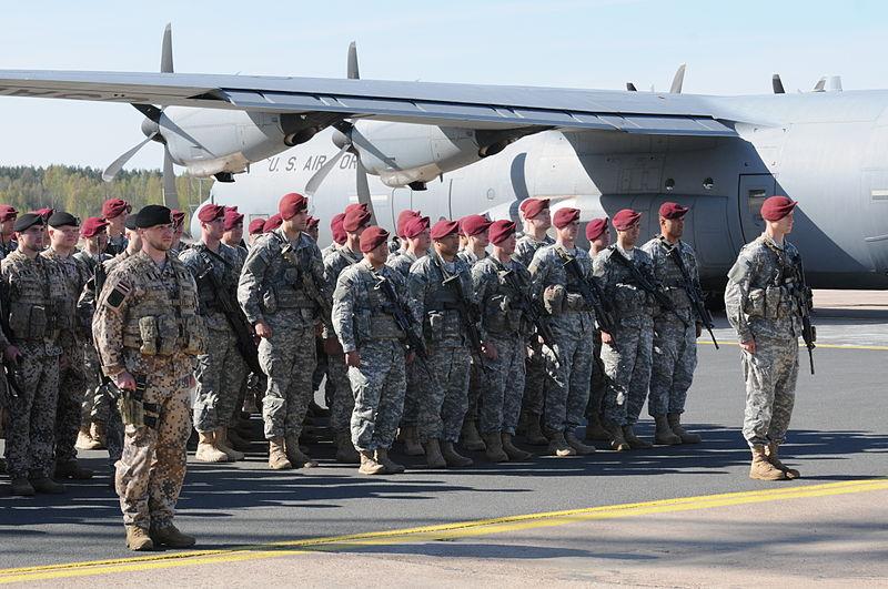 La 173ma Brigata Aviotrasportata USA in Lettonia.
