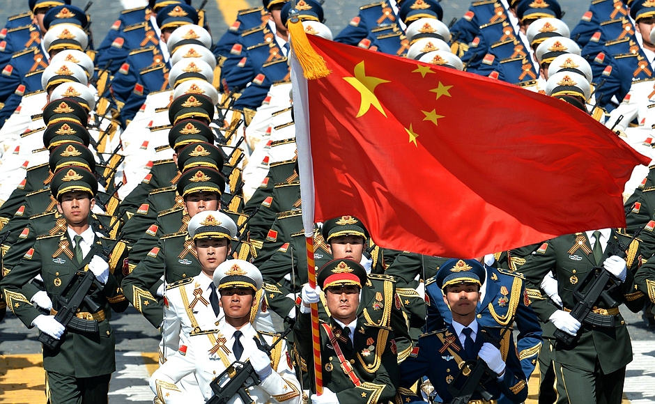 Chinese-Forces-in-Moscow-for-Vday