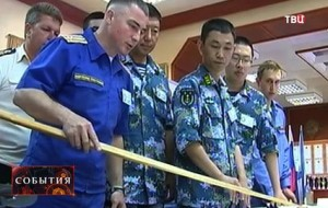Joint-Russian-Chinese-officers-together