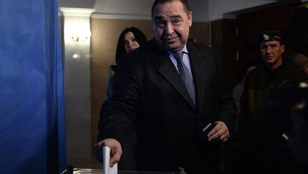 Elezioni del capo della Repubblica Popolare di Lugansk (LPR).