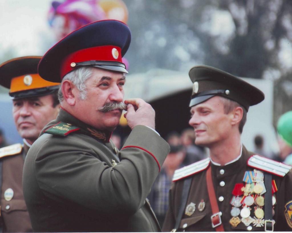 """Ataman Kozitsyn, il leader della """"Guardia Nazionale Cosacca"""", fino a poco tempo fa controllava quasi la metà di LPR."""