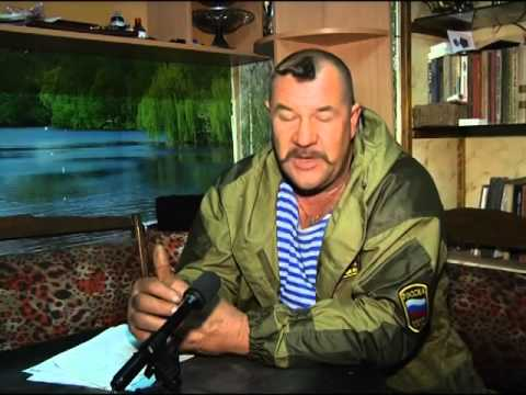 "Ataman ""Kosogor"", che controllava Krasnyi Luch."