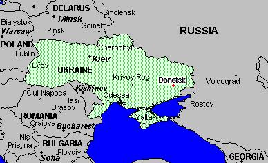 La regione di Donetsk.