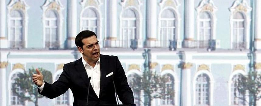 """Tsipras: la Grecia """"attraversa la tempesta per raggiungere porti nuovi e più sicuri"""""""