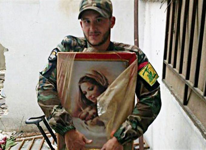 Immagini molto espressive di combattenti Hezbollah