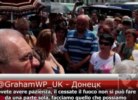 Donetsk, manifestazione del 15 giugno 2015