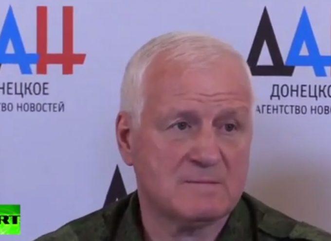 Alto ufficiale delle Forze Armate Ucraine passa alla Novorussia