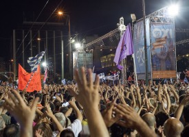 Tsipras: le Tattiche della Globalizzazione contro la Globalizzazione